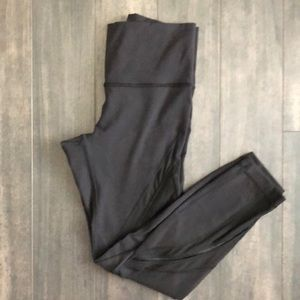Lululemon High Rise Mesh Leggings